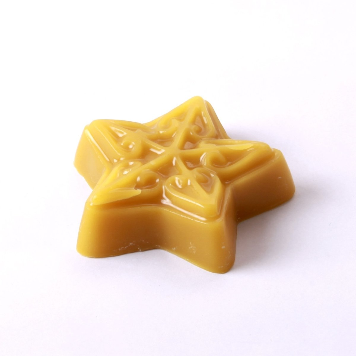 Embossed Star Soap/Bathbomb Mould 4 Cavity G08 - Mystic Moments UK