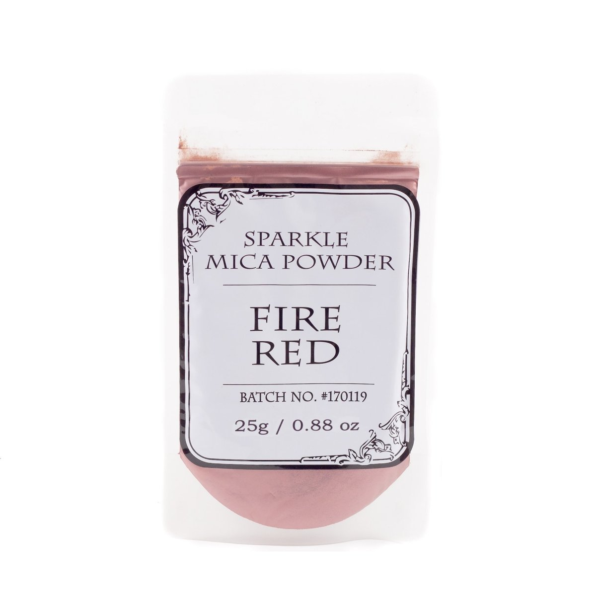 Fire Red Sparkle Mica - Mystic Moments UK