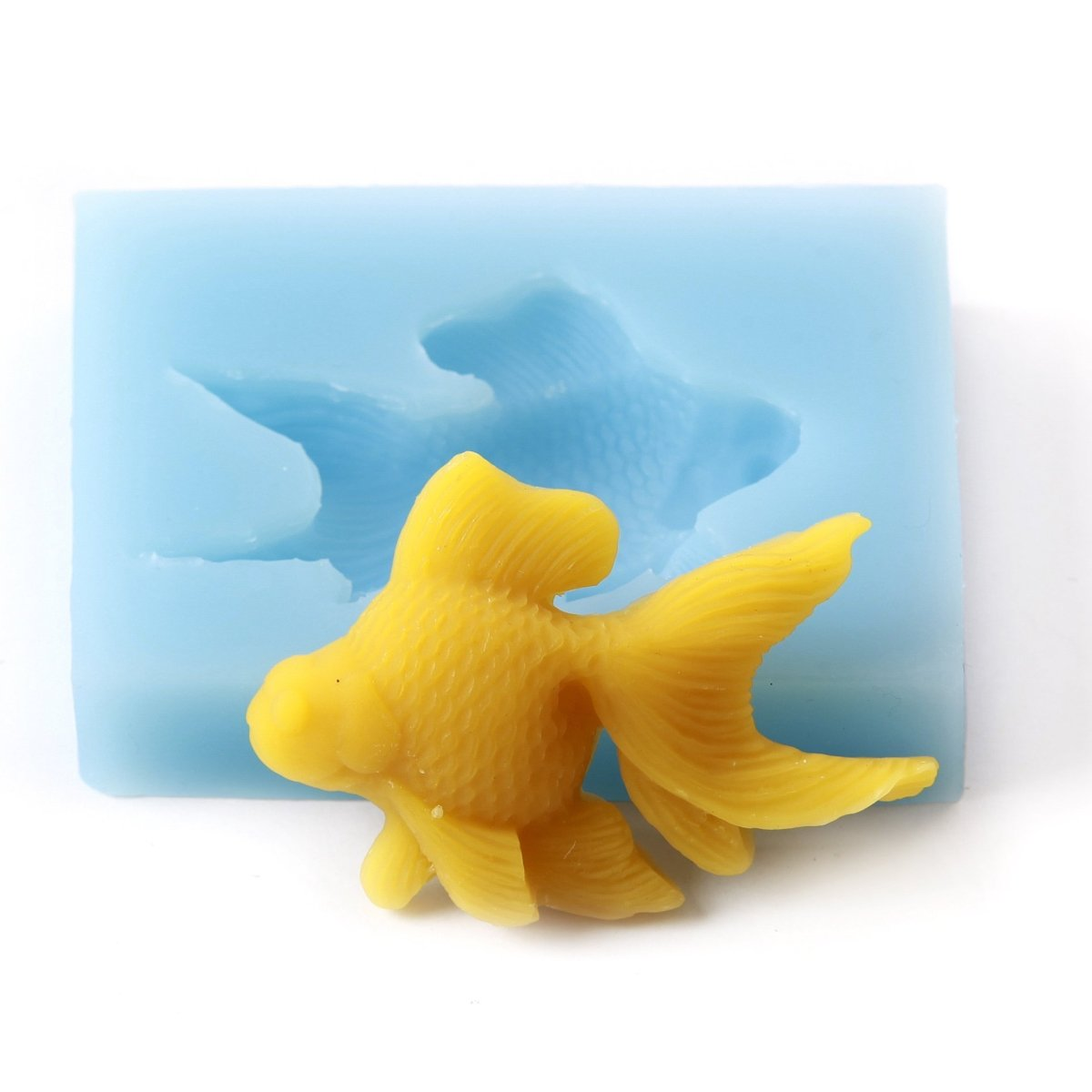 Fondant Icing Cake Decorating Silicone Fish Shape Mould Q0001 - Mystic Moments UK