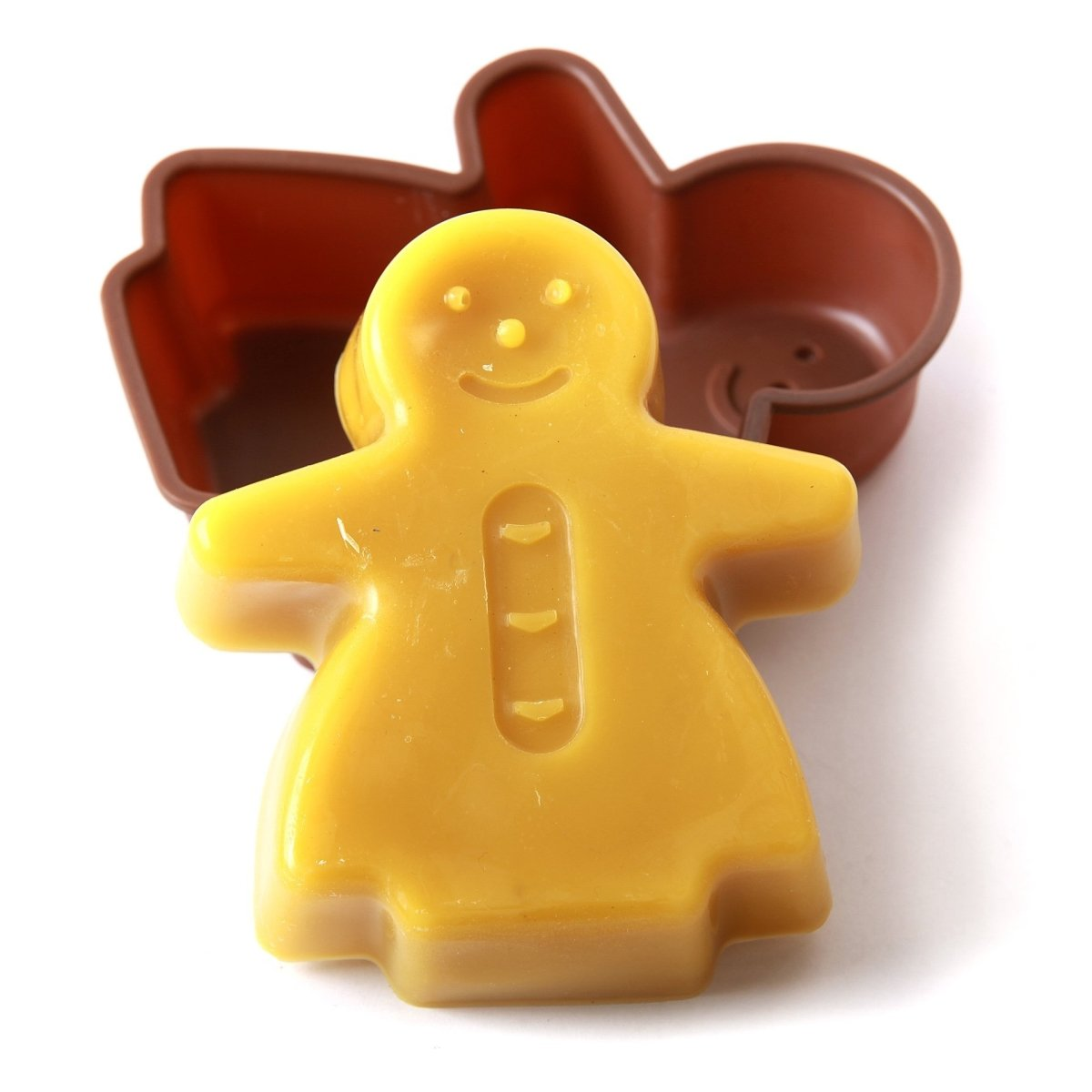 Gingerbread Woman Cake/Jelly/Soap Silicone Soap Mould B0011 - Mystic Moments UK