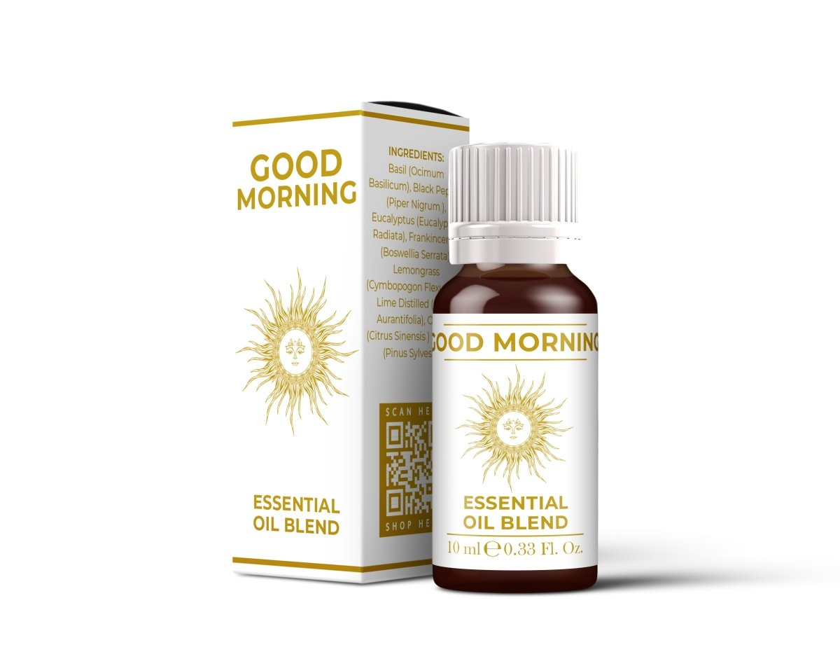Good Morning - Essential Oil Blends - Mystic Moments UK