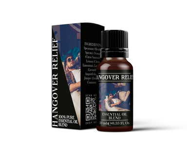 Hangover Relief - Essential Oil Blends - Mystic Moments UK