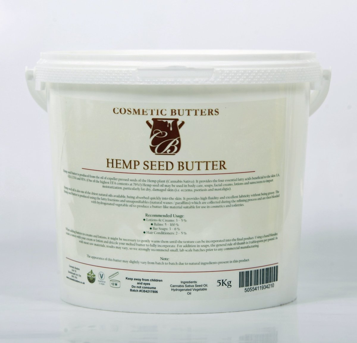 Hemp Seed Blended Butter - Mystic Moments UK