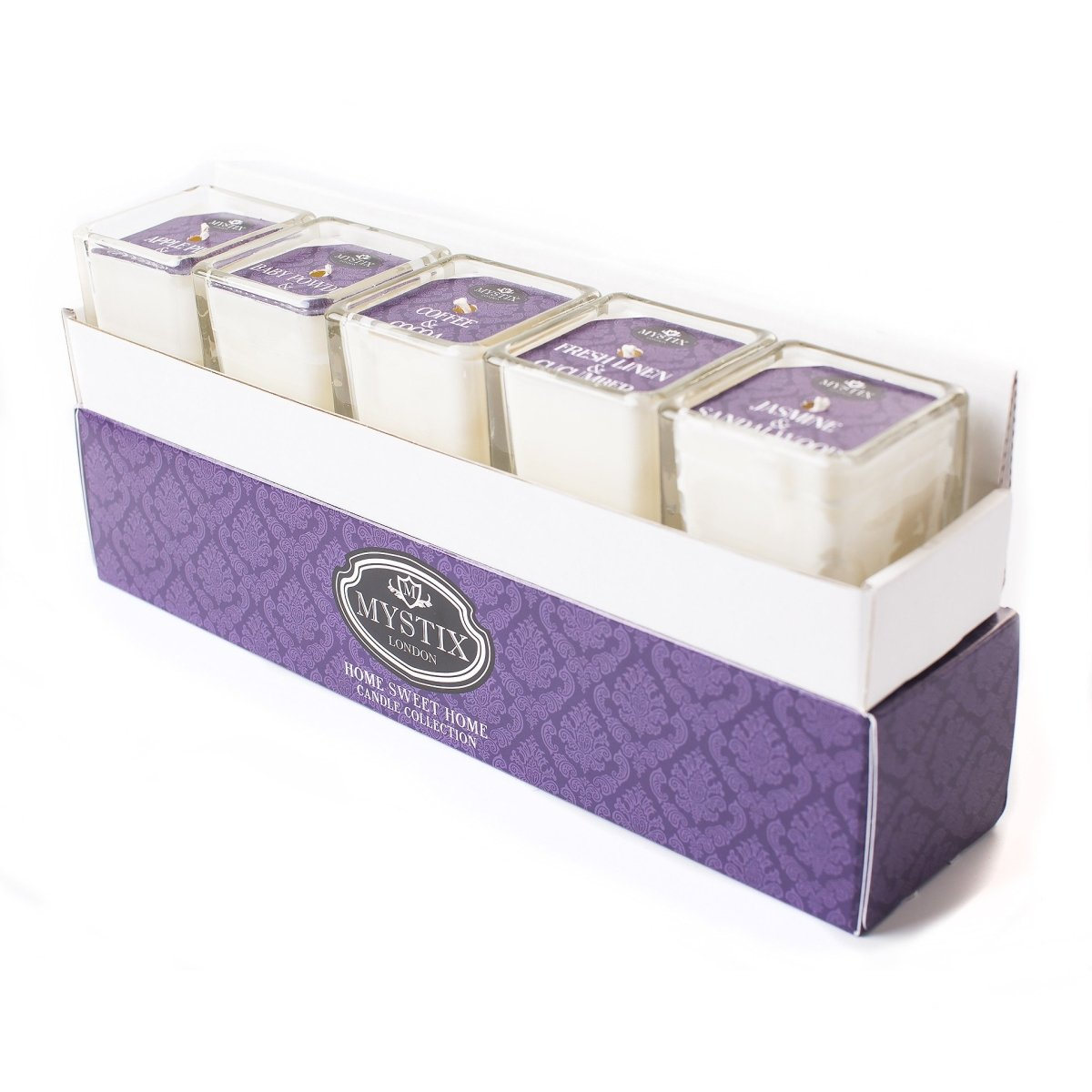 Home Sweet Home - Candle Collection Gift Set - Mystic Moments UK