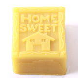 Home Sweet Home Silicone Soap Mould R0728