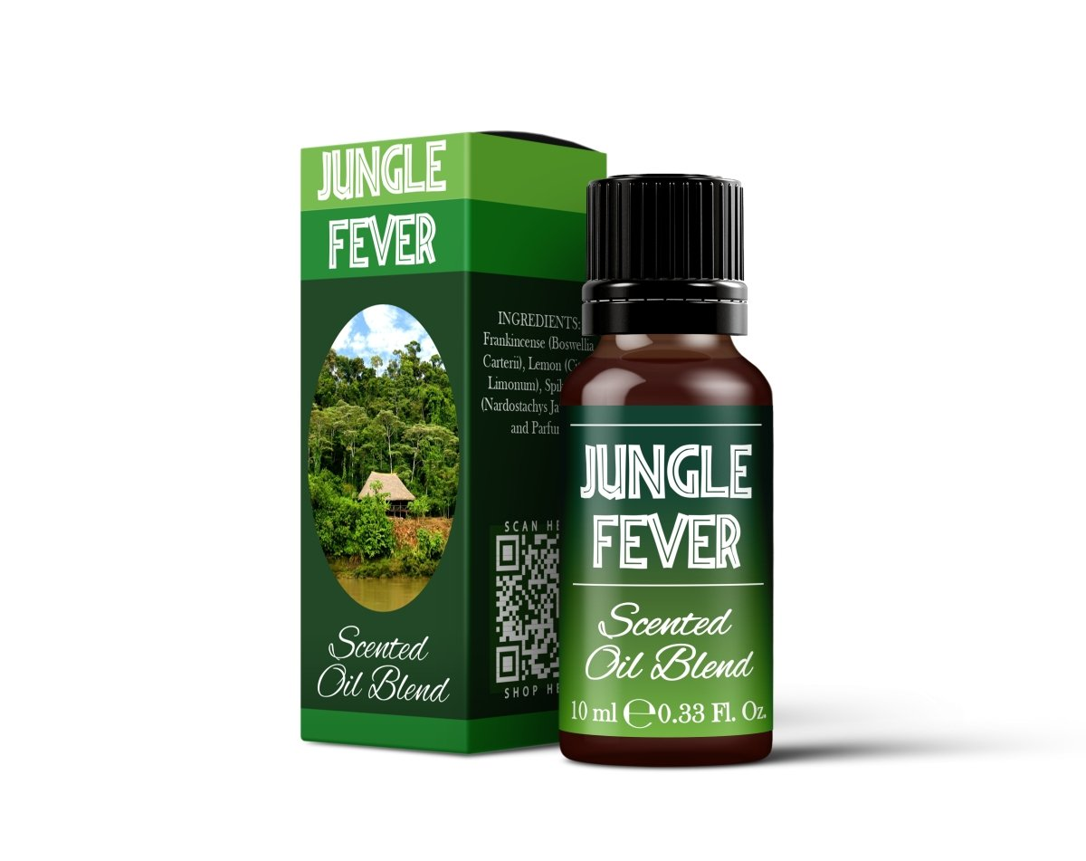 Jungle Fever - Scented Oil Blend - Mystic Moments UK