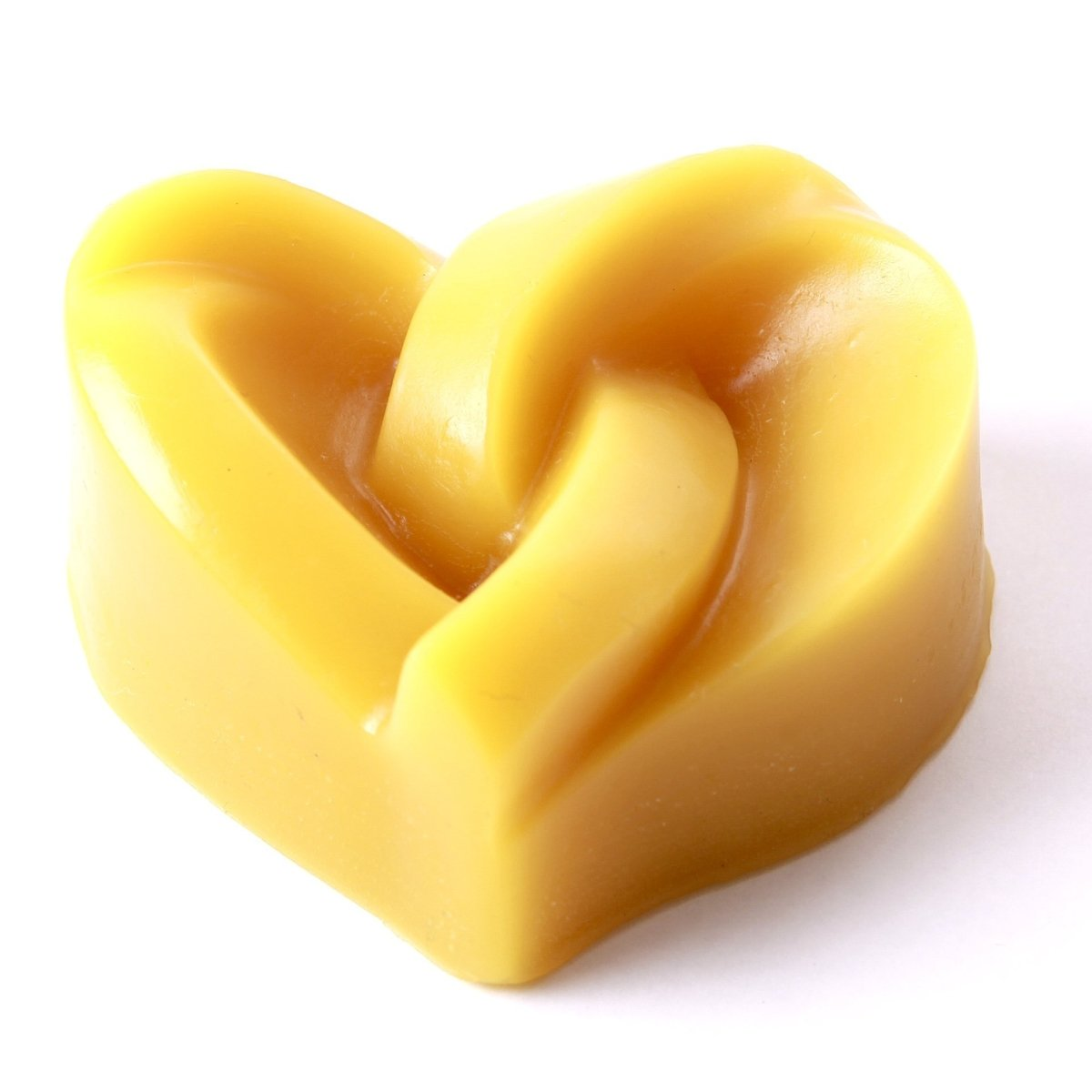 Knotted Heart Silicone Soap Mould R0073 - Mystic Moments UK