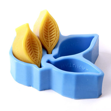 Leaves Silicone Soap /Chocolate/Jelly Mould H0225 - Mystic Moments UK