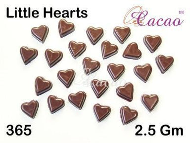 Little Hearts Chocolate/Sweet/Soap/Plaster/Bath Bomb Mould #365 (24 Cavity) - Mystic Moments UK