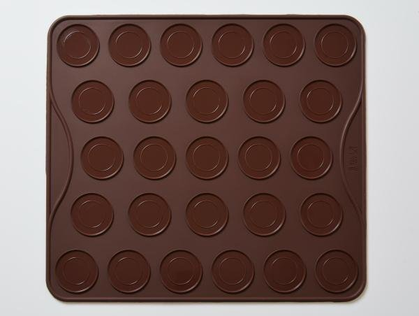 Macaroons Non Stick Baking Mat Silicone Mould 27 Cavity B0070 - Mystic Moments UK