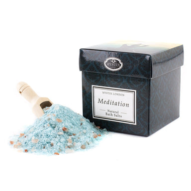 Meditation Bath Salt - 350g - Mystic Moments UK