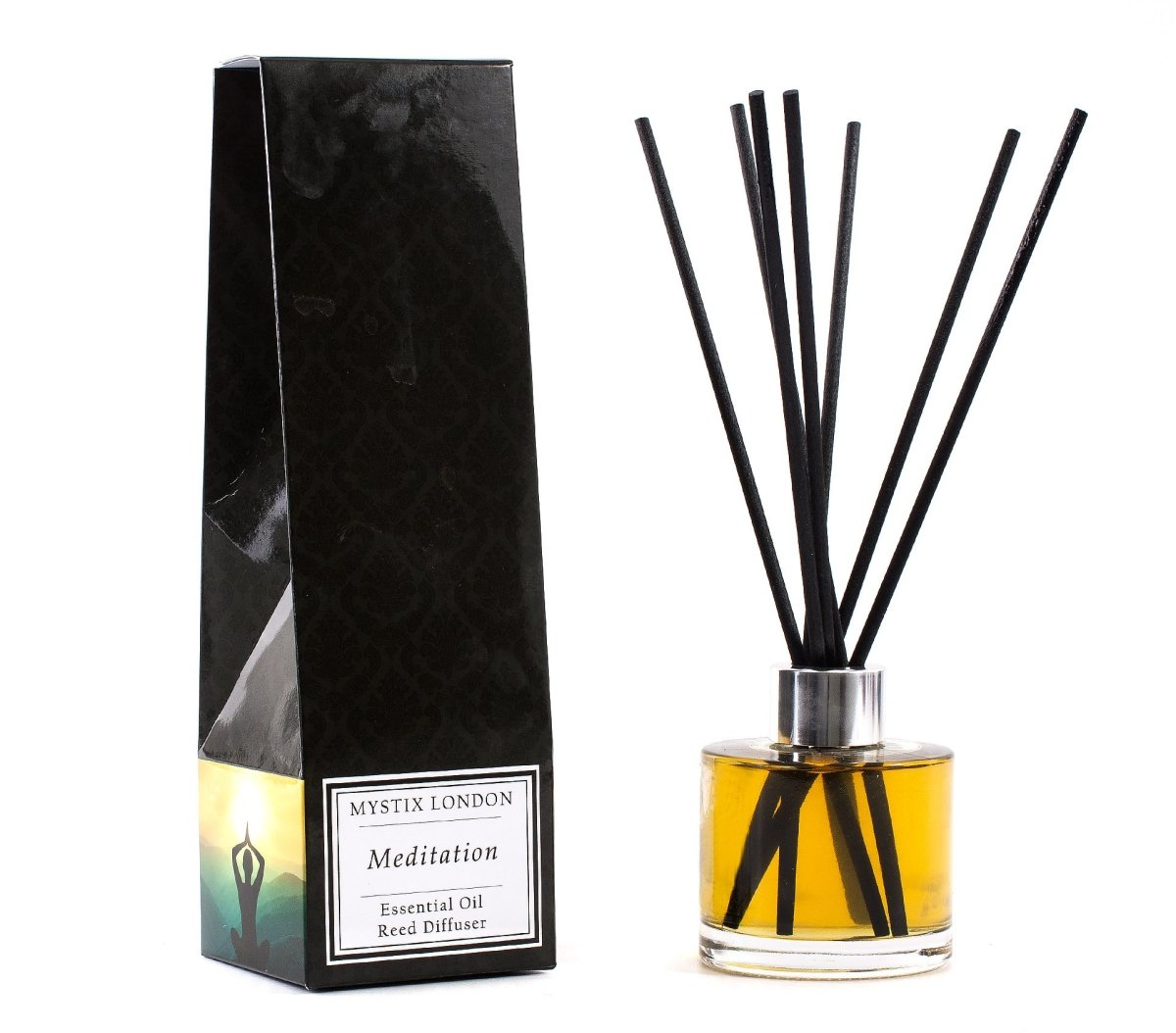 Meditation - Essential Oil Reed Diffuser - Mystic Moments UK