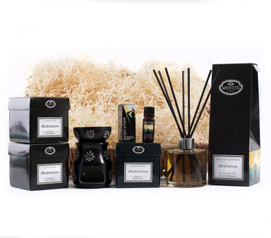 Meditation | Premium Aromatherapy Hamper - Mystic Moments UK