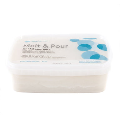 Melt and Pour Soap Base - Oatmeal & Shea Butter - Mystic Moments UK