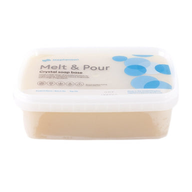 Melt and Pour Soap Base - Organic - Mystic Moments UK