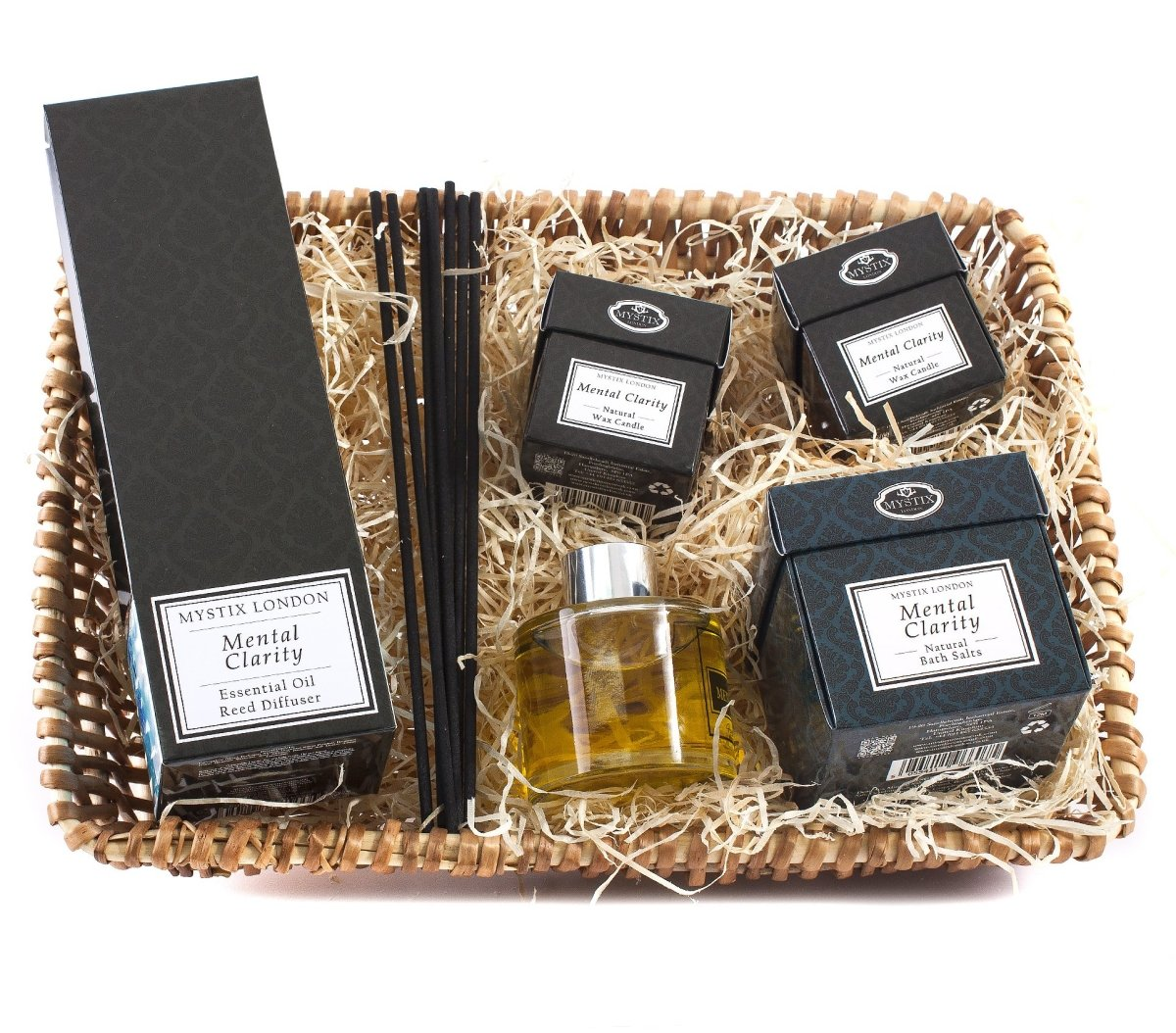 Mental Clarity | Aromatherapy Hamper - Mystic Moments UK