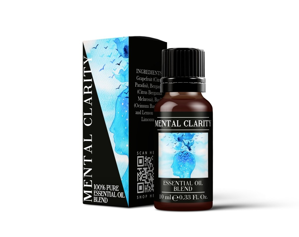 Mental Clarity - Essential Oil Blends - Mystic Moments UK