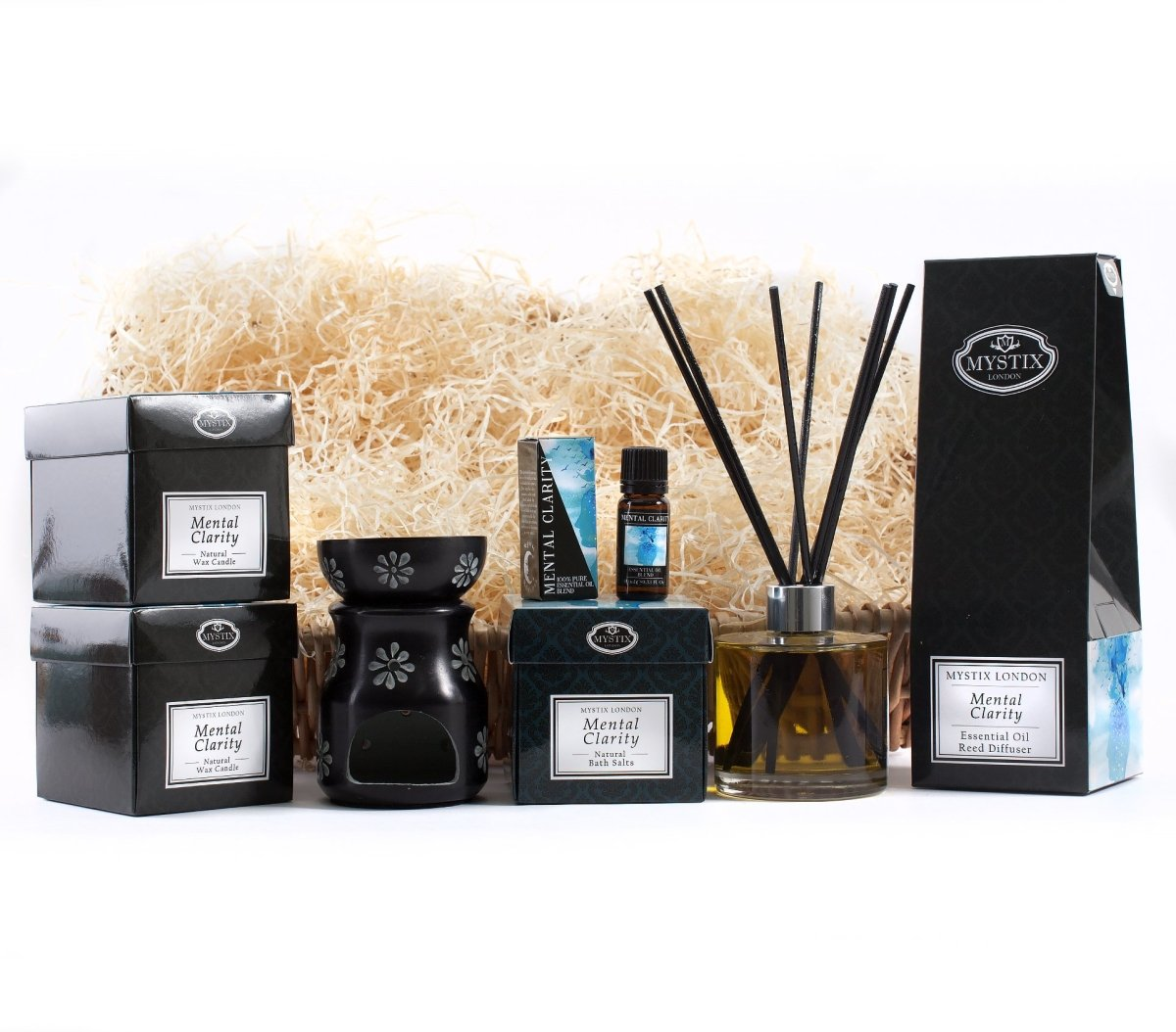 Mental Clarity | Premium Aromatherapy Hamper - Mystic Moments UK