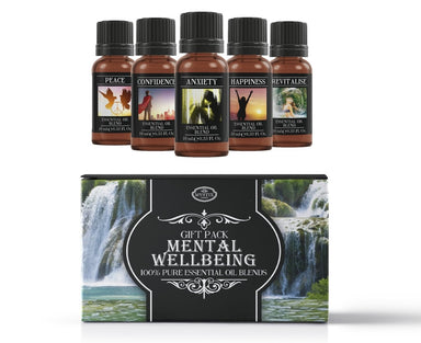 Mental Wellbeing | Essential Oil Blend Gift Pack - Mystic Moments UK