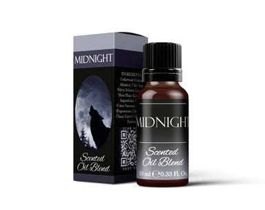 Midnight - Scented Oil Blend - Mystic Moments UK