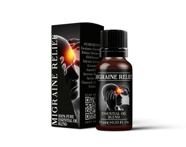 Migraine Relief - Essential Oil Blends - Mystic Moments UK