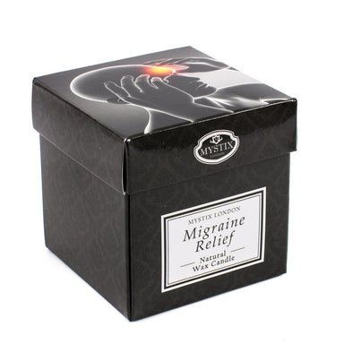 Migraine Relief Scented Candle - Mystic Moments UK