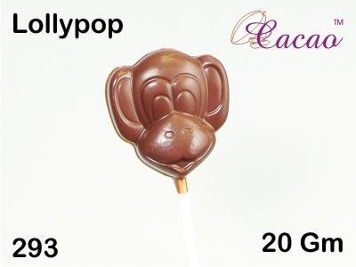 Monkey Lolly Chocolate/Sweet/Soap/Plaster/Bath Bomb Mould #293 (4 cavity) - Mystic Moments UK