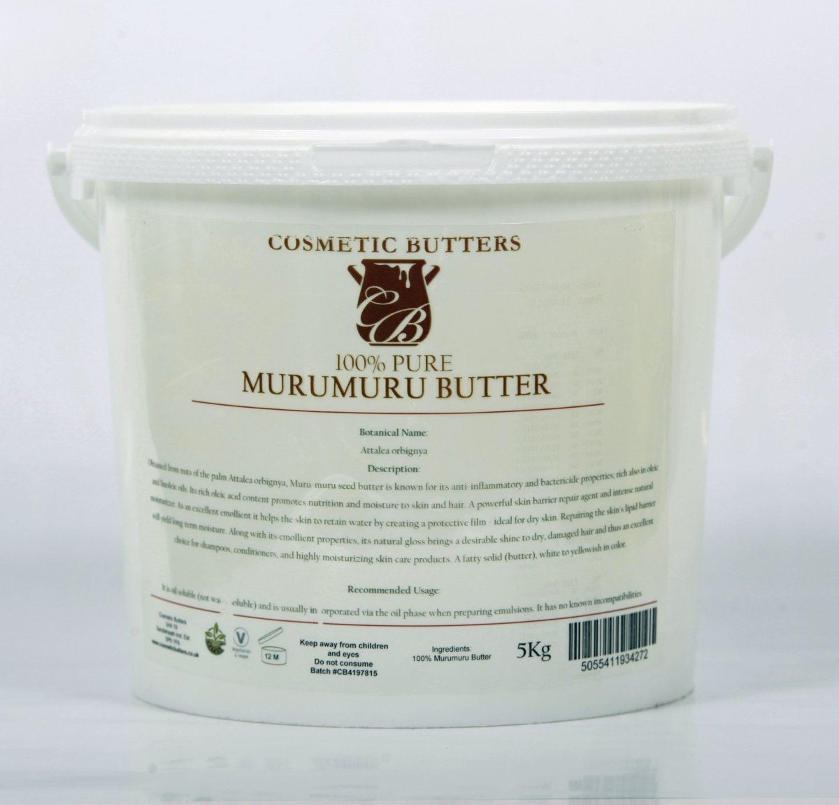 Murumuru Butter Refined - Mystic Moments UK