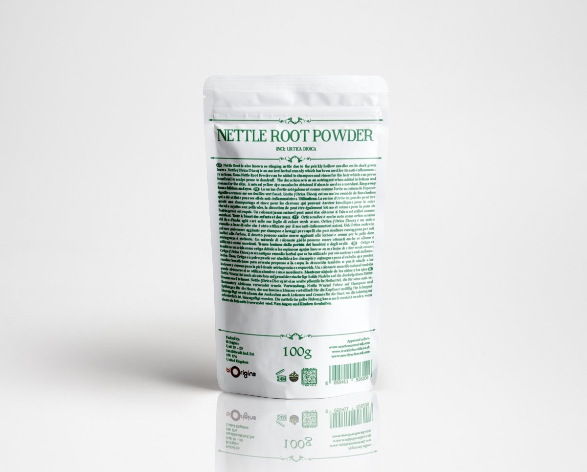 Nettle Root Powder - Herbal Extracts - Mystic Moments UK