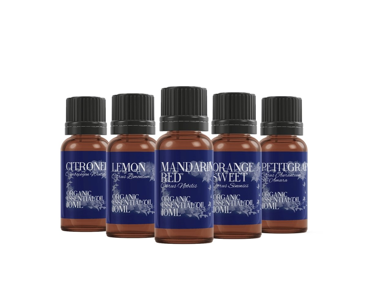 Organic Citrus | Essential Oil Gift Starter Pack - Mystic Moments UK