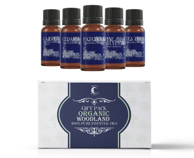 Organic Woodland | Essential Oil Gift Starter Pack - Mystic Moments UK