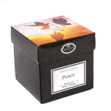 Peace Scented Candle - Mystic Moments UK