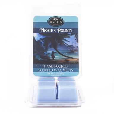 Pirate's Bounty | Scented Wax Melt Clamshell - Mystic Moments UK