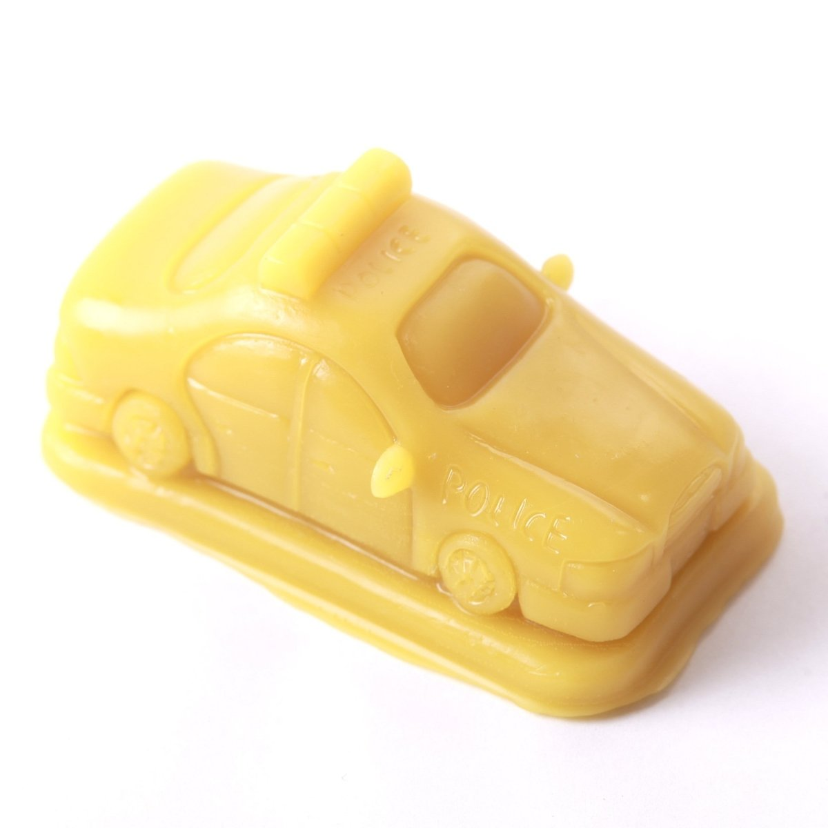 Police Car Silicone Soap Mould R0740 - Mystic Moments UK