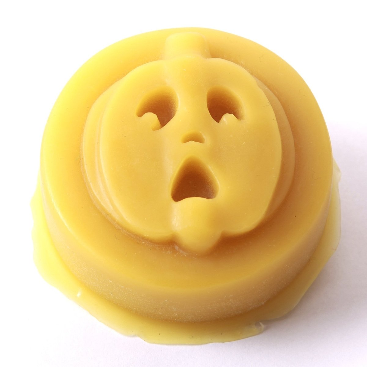 Pumpkin Face Silicone Soap Mould R0148 - Mystic Moments UK