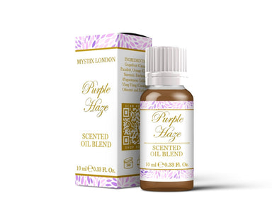 Purple Haze - Scented Oil Blend - Mystic Moments UK