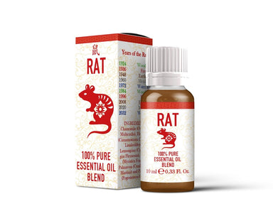 Rat - Chinese Zodiac - Essential Oil Blend - Mystic Moments UK