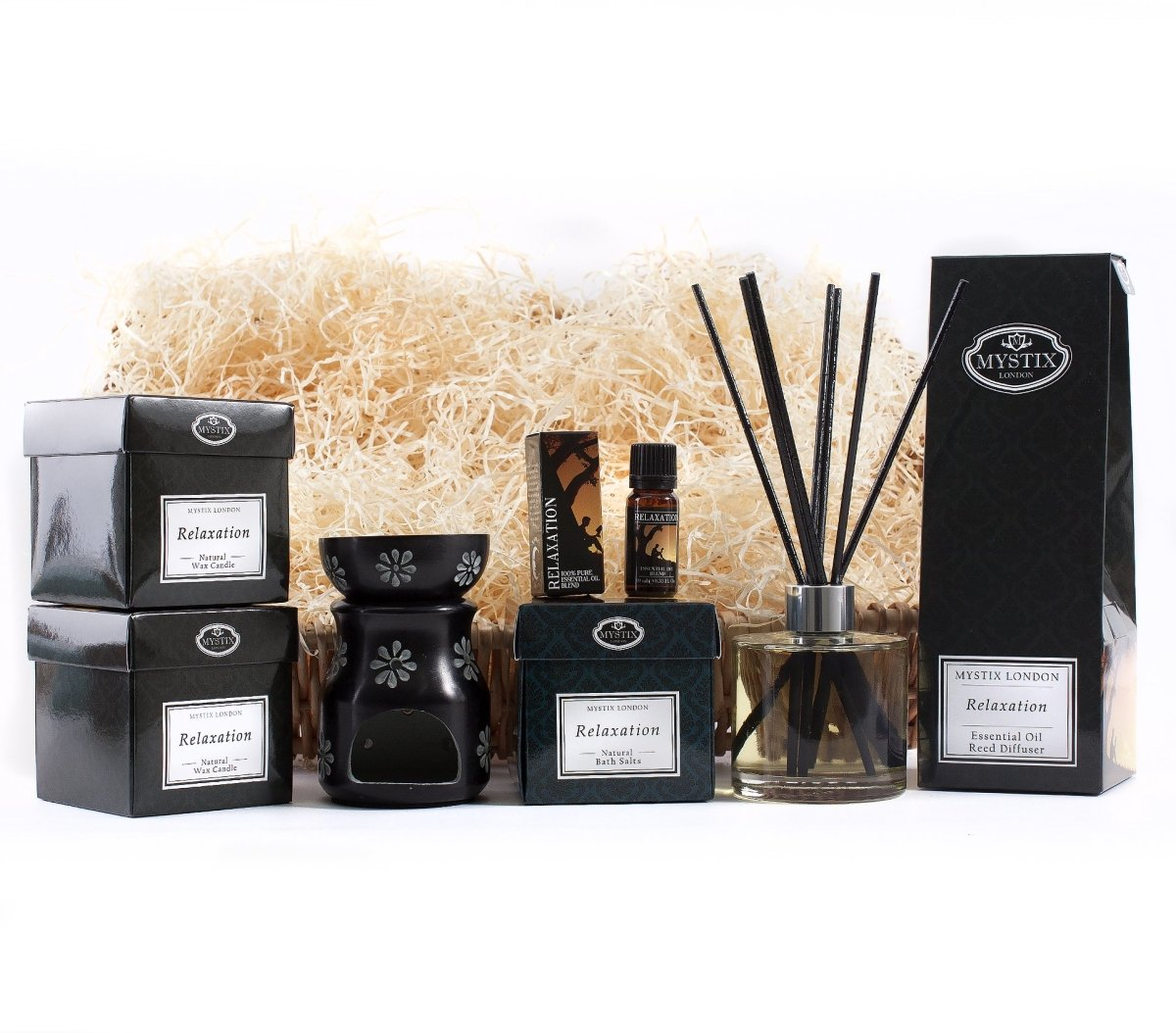 Relaxation | Premium Aromatherapy Hamper - Mystic Moments UK