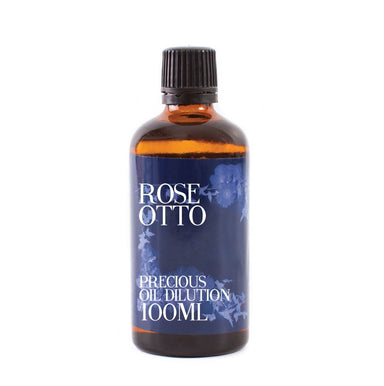 Rose Otto Essential Oil Dilution - Mystic Moments UK