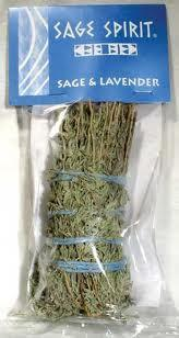 "Sage & Lavender Smudge Stick 7"" - Mystic Moments UK"