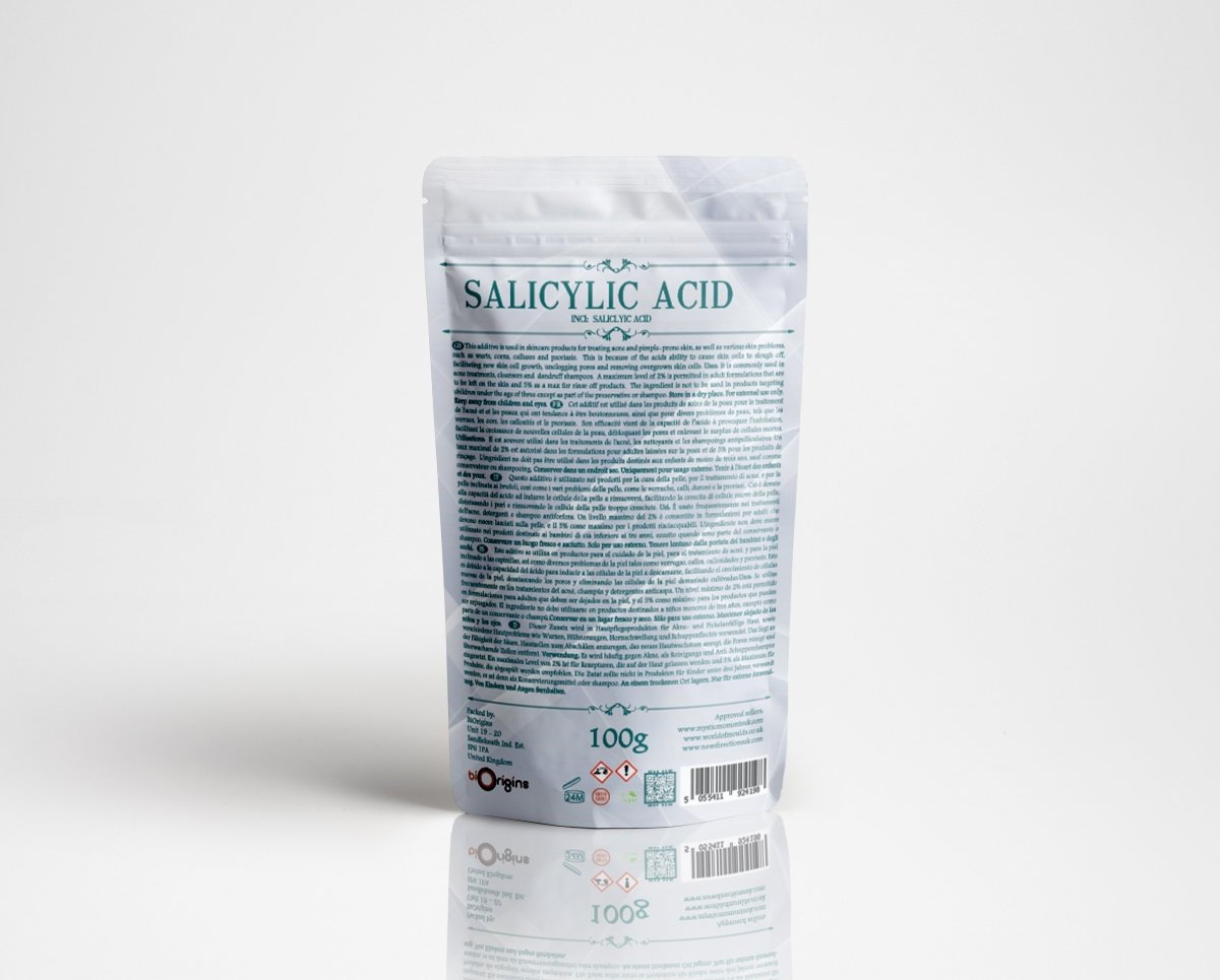 Salicylic Acid Powder - Mystic Moments UK