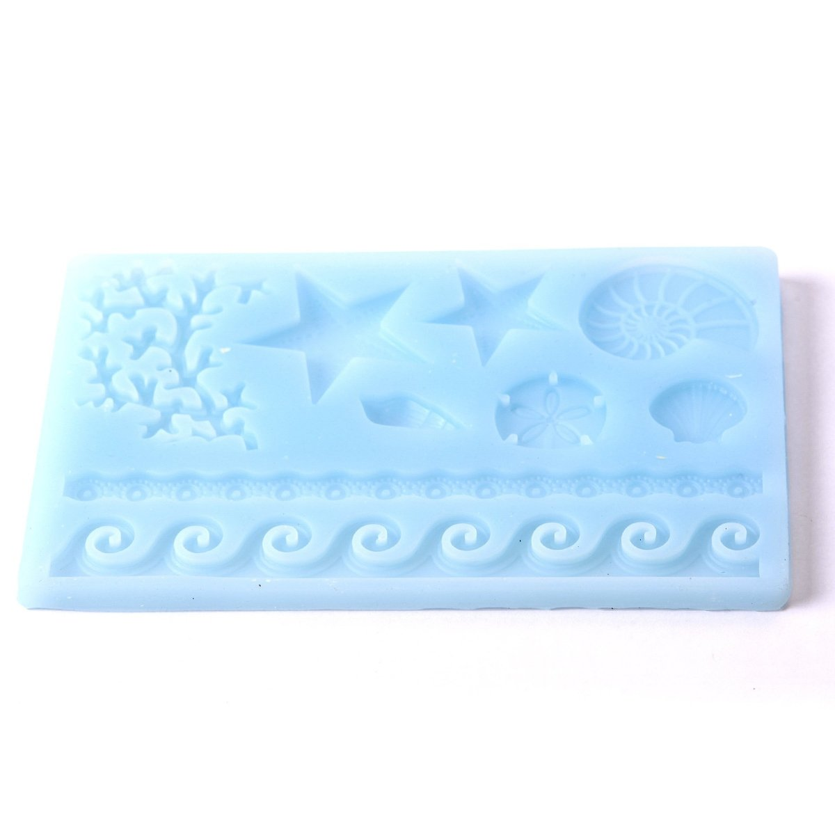 Sea Coral Fondant Cake Decorations/Soap/Jewellery Silicone Mould F0250 - Mystic Moments UK