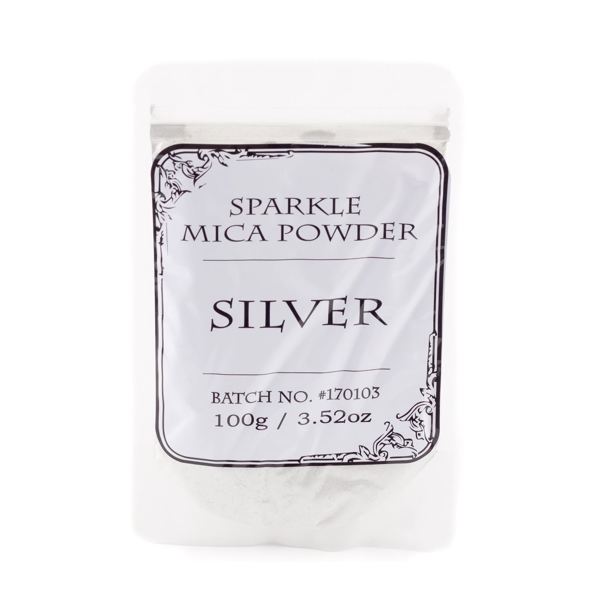Silver Sparkle Mica - Mystic Moments UK
