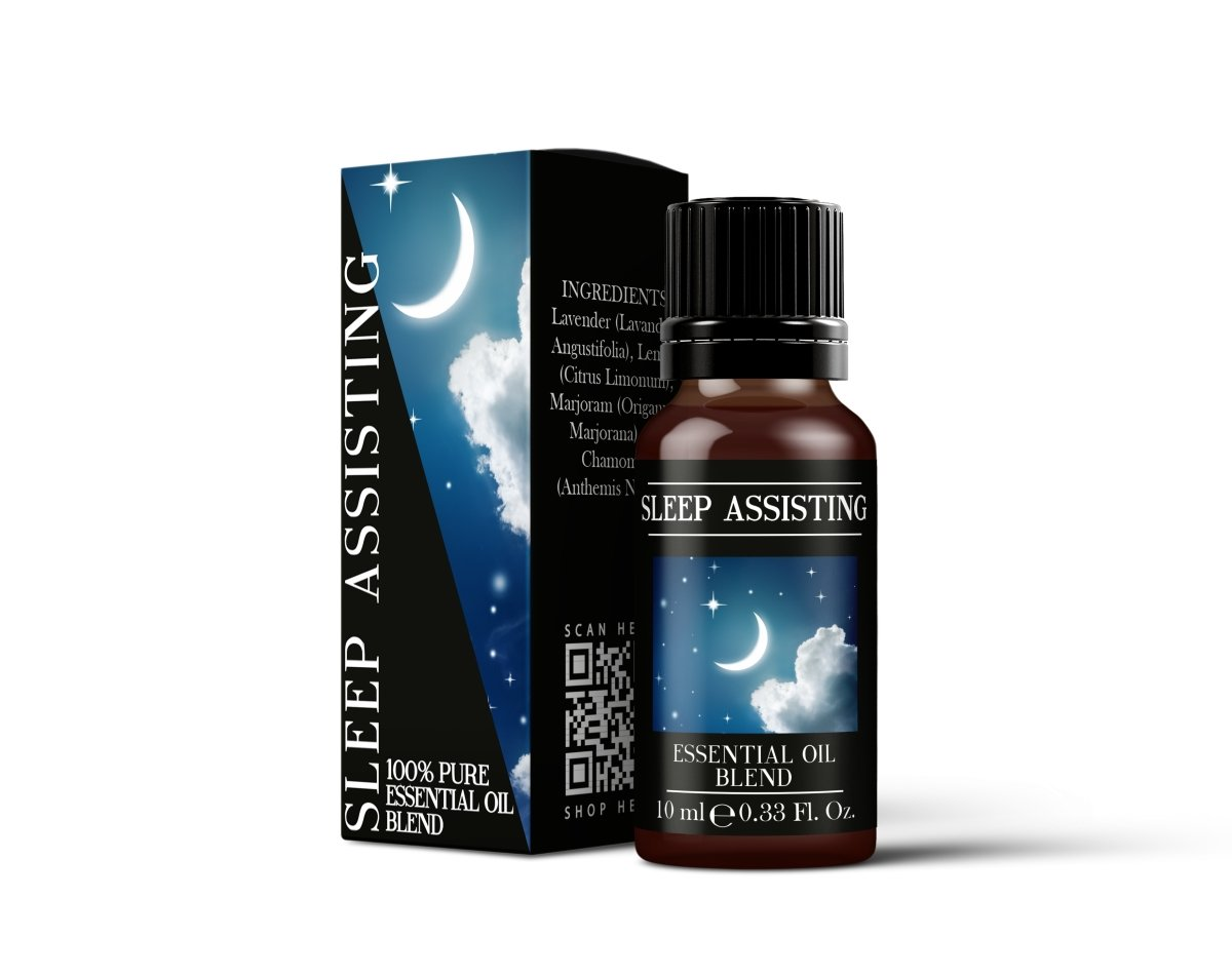 Sleep Assisting - Essential Oil Blends - Mystic Moments UK