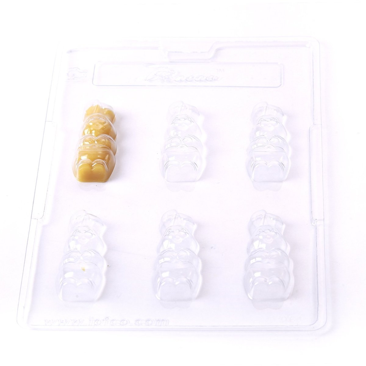Small Easter Bunny Chocolate/Sweet/Soap/Plaster/Bath Bomb Mould #064 (6 cavity) - Mystic Moments UK