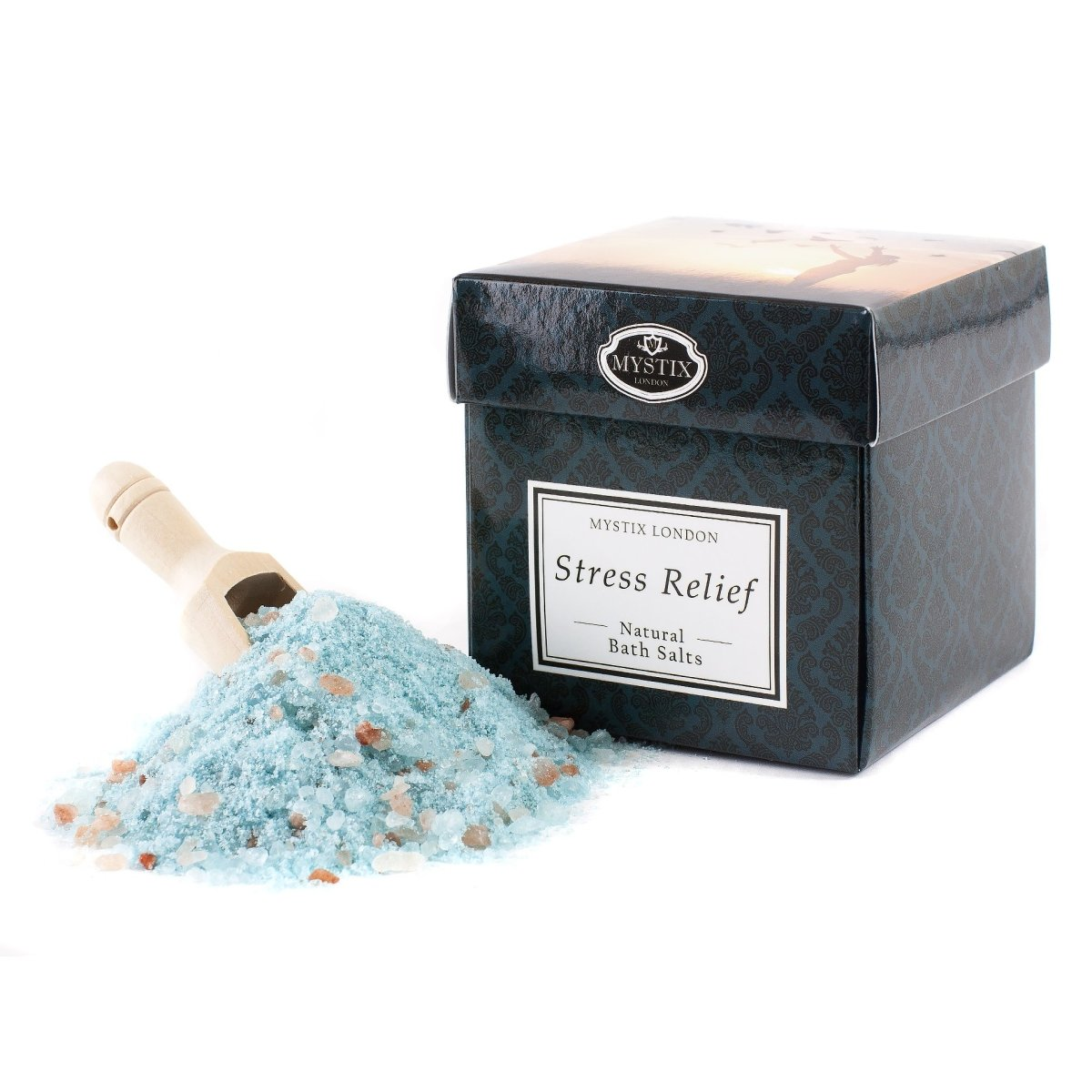 Stress Relief Bath Salt - 350g - Mystic Moments UK