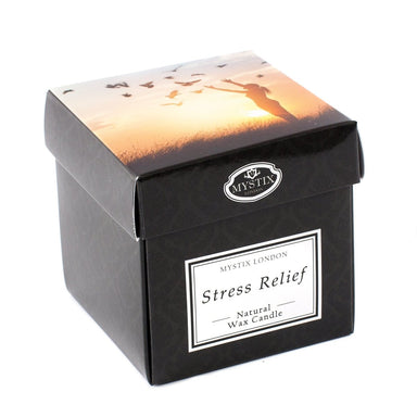 Stress Relief Scented Candle - Mystic Moments UK