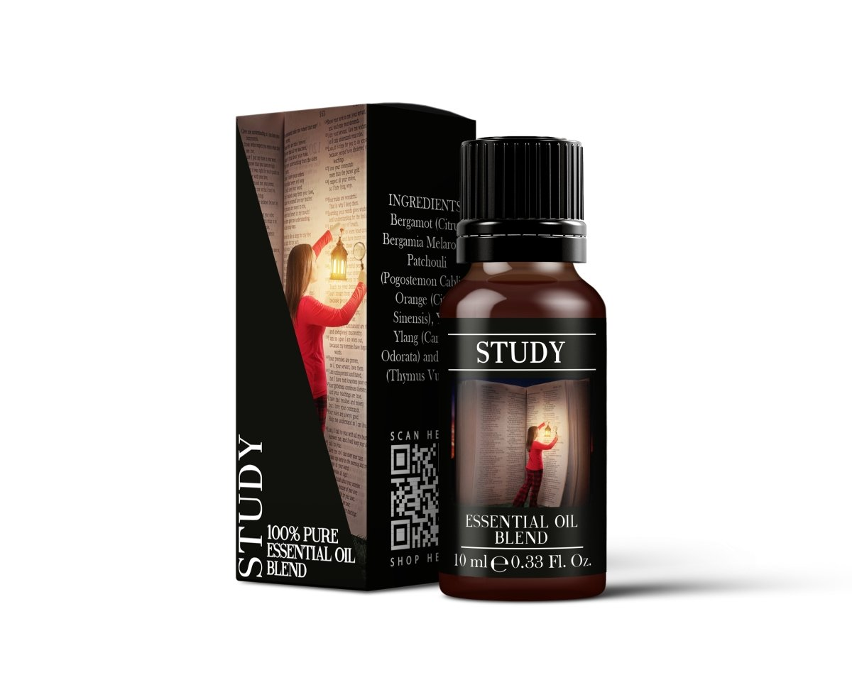 Study - Essential Oil Blends - Mystic Moments UK