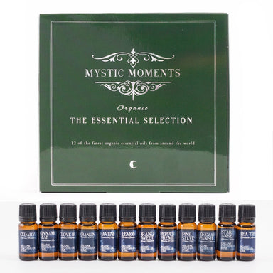 The Organic Essential Selection Gift Box - Mystic Moments UK
