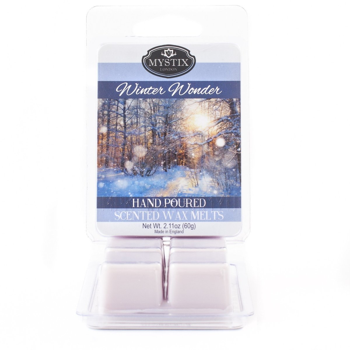 Winter Wonder | Scented Wax Melt Clamshell - Mystic Moments UK